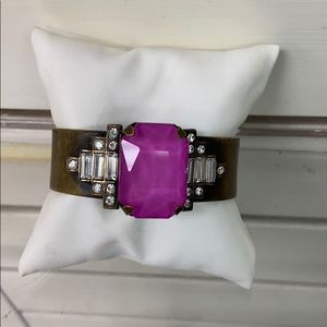 Purple Loren Hope Cuff